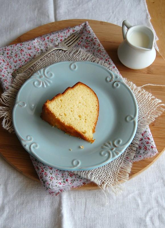 Lemon Madeira cake / Bolo Madeira de limão siciliano