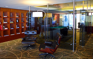 photo - pool table in Executive Lounge, Buenos Aires Hilton