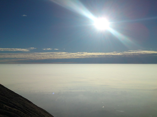 sky sun sunrise bangalore mountainpeak nandihill