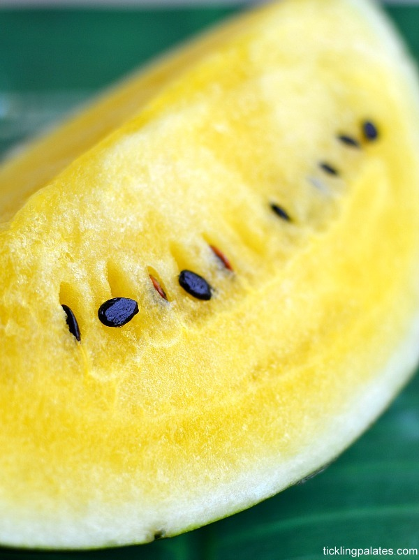 Yellow watermelon Fruit