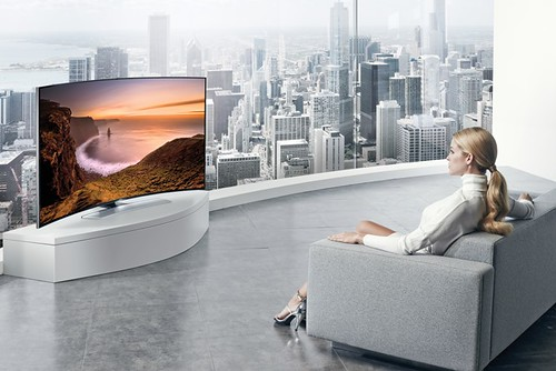 009.Curved UHD TV_Curved Screen_Option5