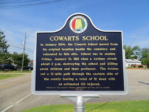 Cowarts School Marker Cowarts AL