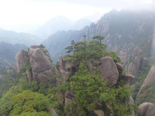 Jiangxi-Sanqing Shan-3 sentier du soleil (65)