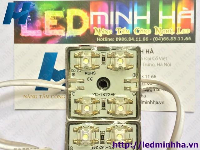 LED Hắt 3232 4 Bóng F3 Có Phủ Đế Sắt