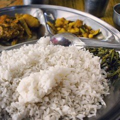 curry(0.0), fish(0.0), produce(0.0), meal(1.0), steamed rice(1.0), food grain(1.0), rice(1.0), jasmine rice(1.0), food(1.0), white rice(1.0), dish(1.0), cuisine(1.0), glutinous rice(1.0),
