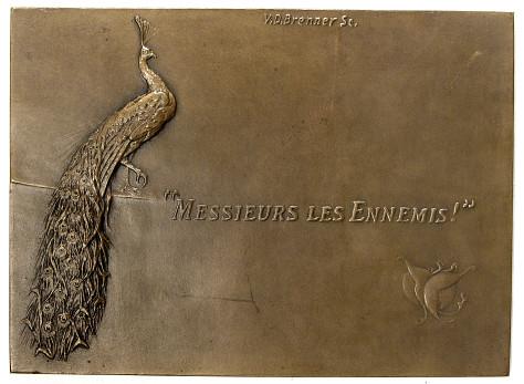 Brenner Whistler medal reverse