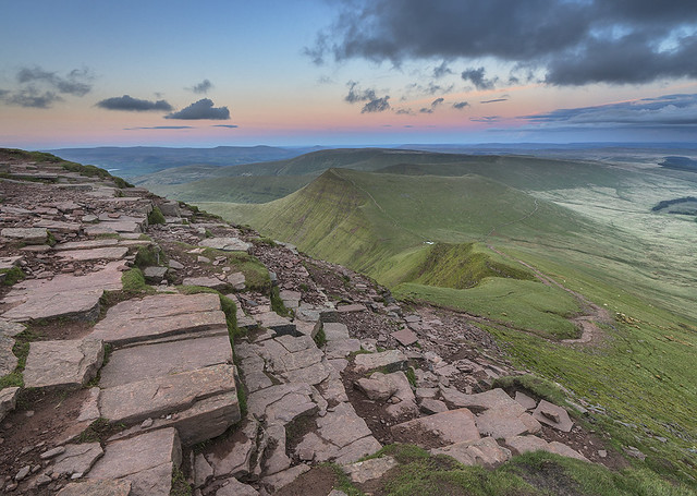 'Dusk In The Beacons' - Pen-Y-Fan