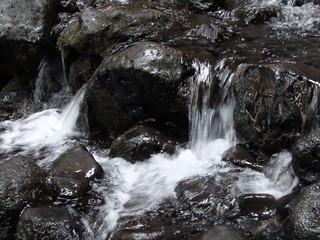 15cm waterfall at Rauðfeldsgjá