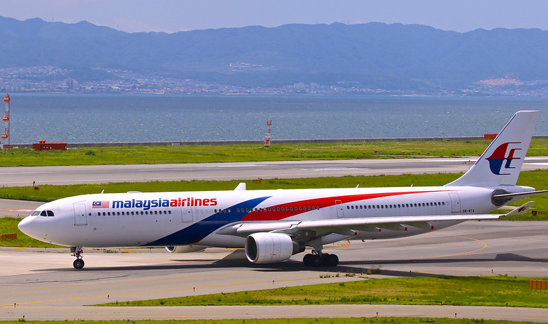 9M-MTA Malaysia Airlines Airbus A330-323