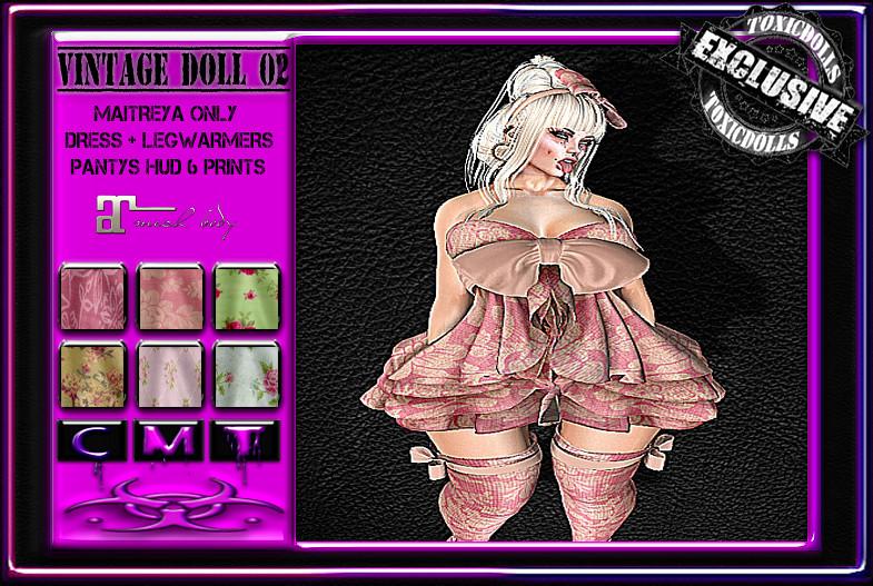[TD] Vintage Doll 02 - SecondLifeHub.com