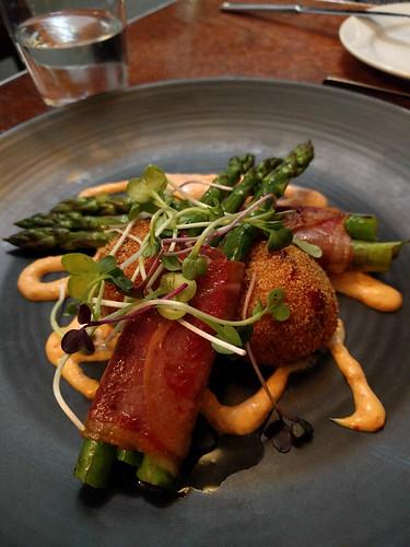 asparagus app @ Ford's Restaurant and Bar