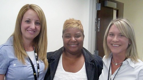 Jennifer Wright—Practice Manager with Multi-Specialty Center and Starks Diabetes Clinic , Rhonda Gray —Phlebotomist I on 5th Floor Specialty UHC, and Lori Korndorffer – Administrative Secretary with Specialty Care Center at Victory Lakes