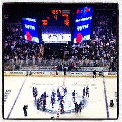 A win in OT for the @nyrangers!!!! Game 5 here we come! #nyrbelieve