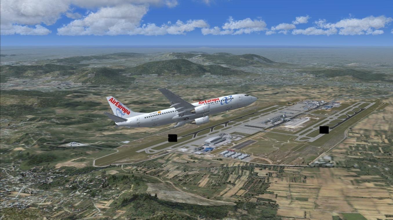 First landing Mykonos 8840681177_abb122120e_o