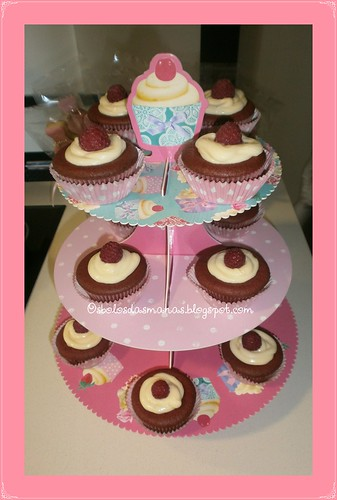 Cupcakes Red Velvet by Osbolosdasmanas