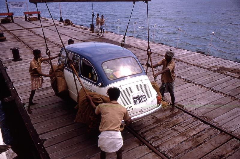 Talaimannar, Sri Lanka, 1969