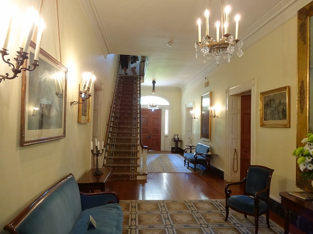 Hallway in Oak Alley Plantation Louisiana