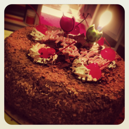 Birthday Cake: Black Forest