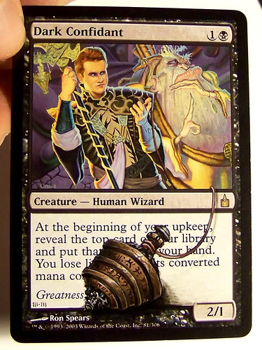 Dark Confidant Altered Art Magic the Gathering Art artwork mtg altered art cards