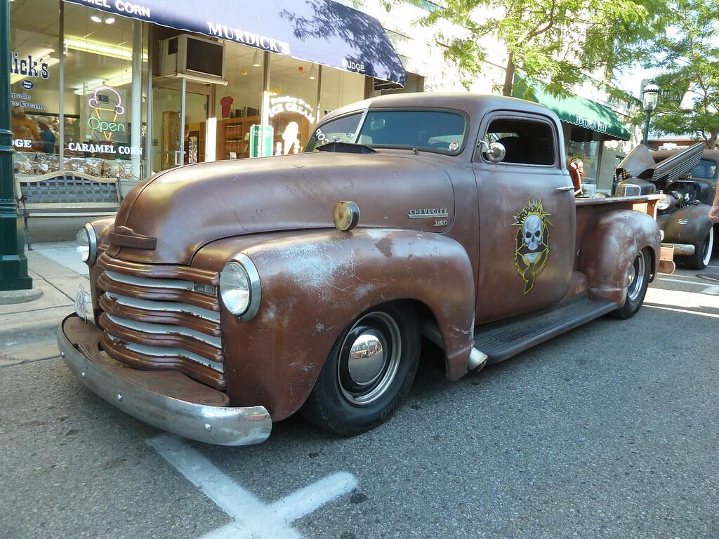 Chopped 1949 Chevrolet 3100 1 2 Ton Pickup Truck Rat Rod