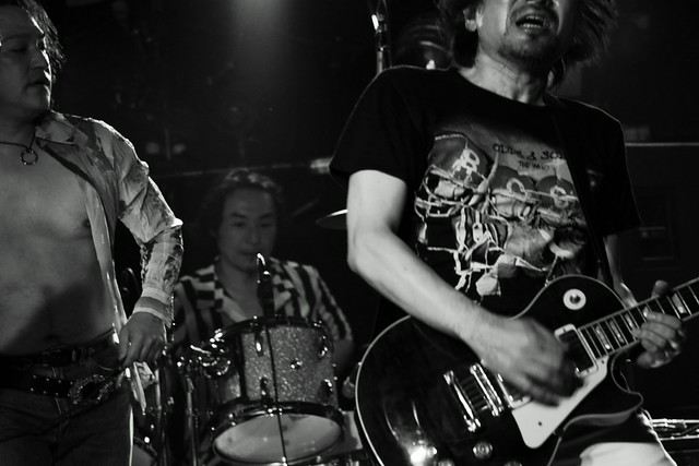 THE ELECTRIC EEL live at ShowBoat, Tokyo, 27 Jun 2013. 330