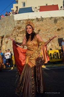 Mojácar (Almeria)2013/Parade of the Moors & Christians Festival/ Fiesta de Moros y Cristianos