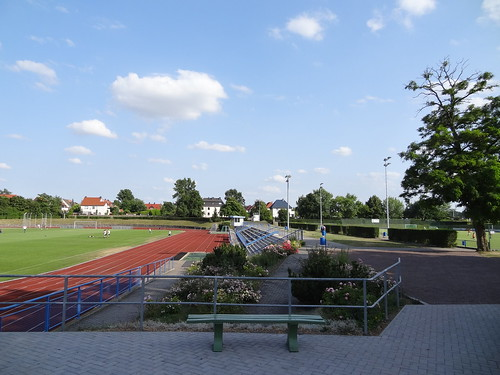 DSC09605 Stadion des Friedens, home of TSV Leuna 1919