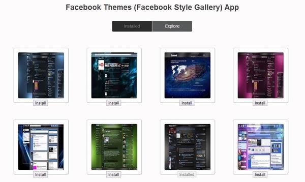 Facebook Theme