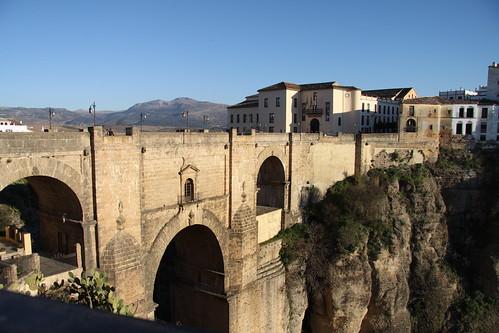 Foto del Puente Nuevo de Ronda, una espectacular obra de ingeniería