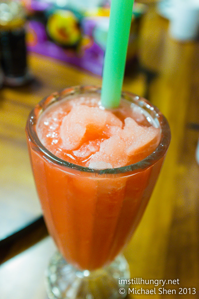 Watermelon juice Taste of Shanghai