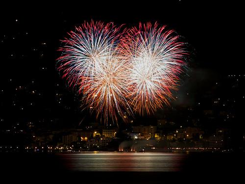Brissago Fireworks by Manuel Buetti