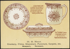 H. S. Root, crockery, china, glassware, furniture, carpets, etc. (front)