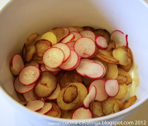 Bratkartoffeln Radieserl Schale