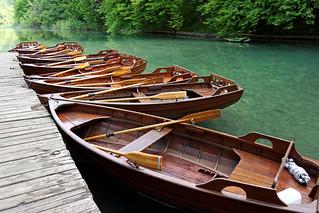 Croatia-00838 - Wooden Row Boats