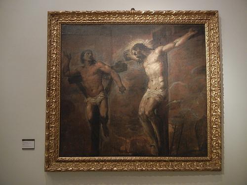 DSCN3363 _ Gesù Cristo e il buon ladrone, Tiziano Vecellio e aiuti, c 1563
