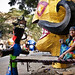 Making of Effigies of Ravana at Titarpur in Delhi, India by Anoop Negi