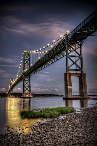 The Blue Hour at Mt. Hope Bridge