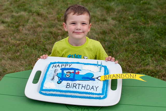 Brandon's 4th Birthday