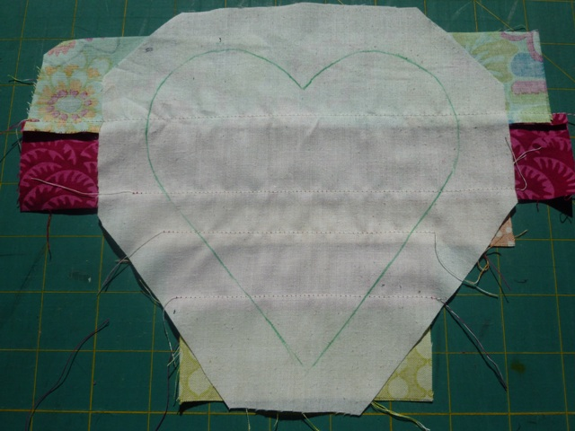 Lavender heart tutorial picture 5