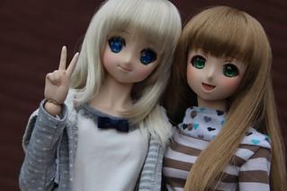 Kaya & the new girl