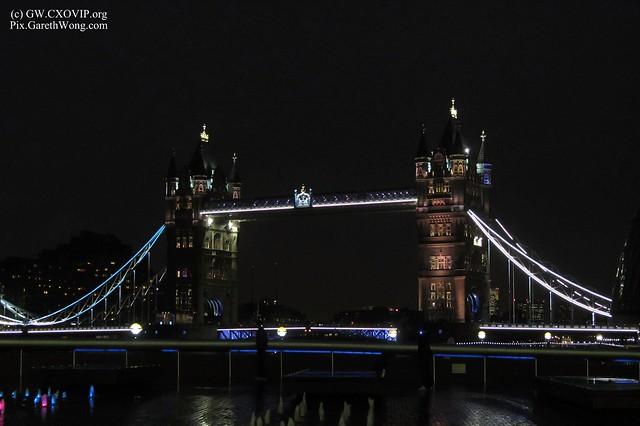 Tower Bridge at Night, City of London, UK IMG_1196