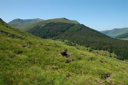 Bac an Eich above Gleann Chorainn