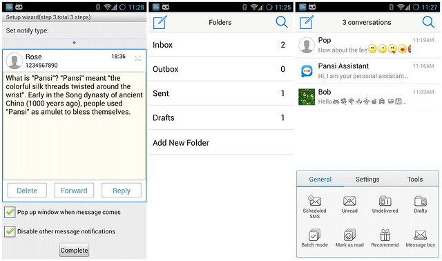 APP][2 1+][Free][v3 5 2]Easy SMS - Fastest SMS - Android