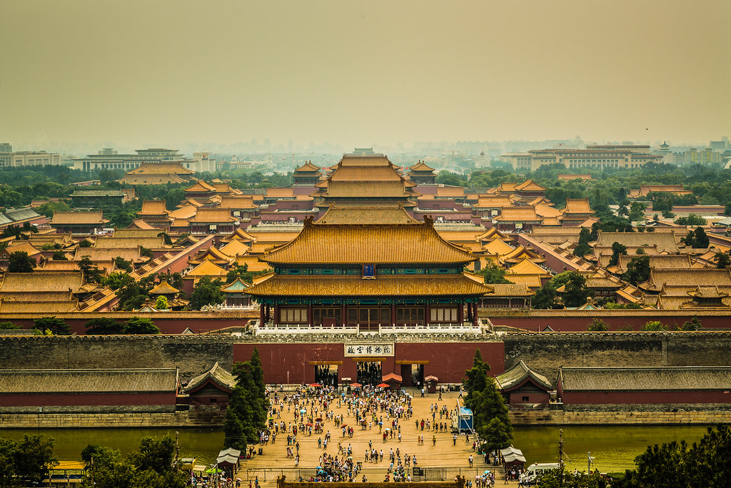 forbidden city views