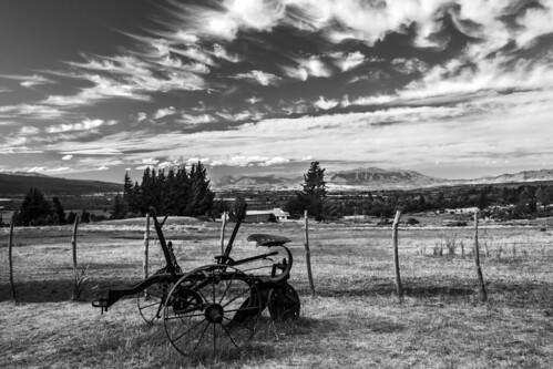 B&W plow, Patagonia