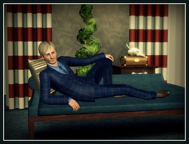 Mads Mikkelsen - In Game Posed