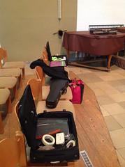 Konzerttag - Vorbereitungen