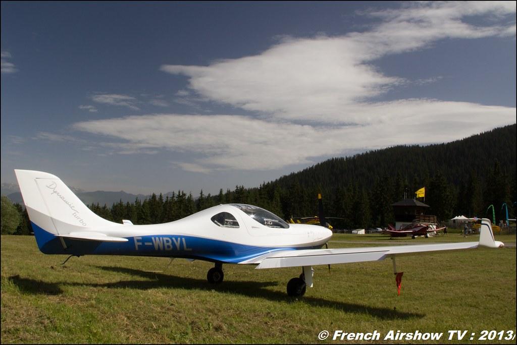 Dynamic WT9 Turbo F-WBYL, Meribel Air Show 2013