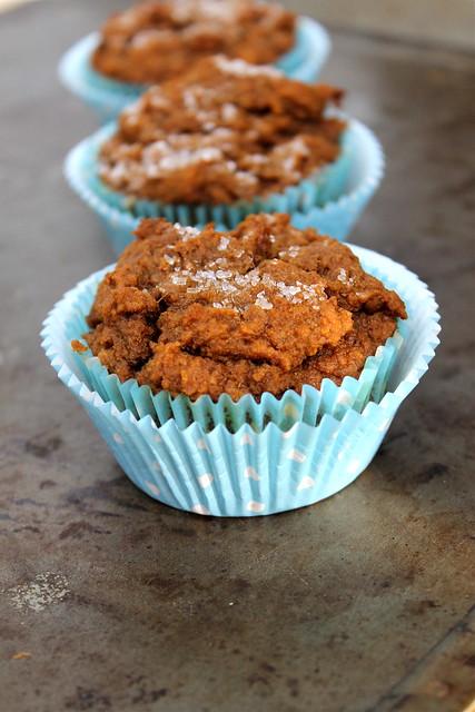 Bourbon Pumpkin Muffins