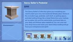 Savvy Seller's Pedestal